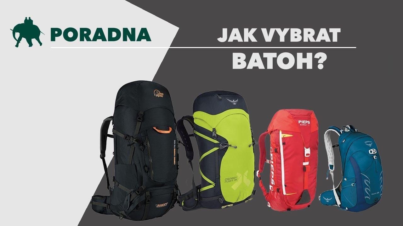 Jak správně vybrat batoh?