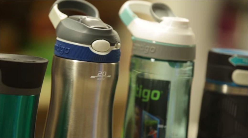 Představení lahví a termohrnků Contigo